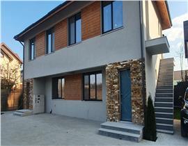 Apartament 4 camere central Otopeni, 75mp curte, 45mp parcare