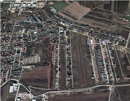 Teren dezvoltare imobiliara Otopeni - str. Mesteacanului, 12.396 mp