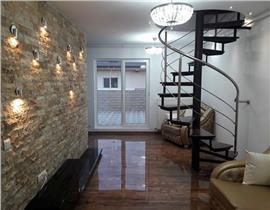 Apartament 4 camere Otopeni+ loc parcare, finisaje de lux, terasa 40mp