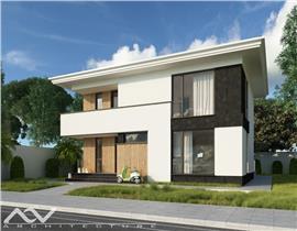 Casa single Balotesti, str Ion C. Bratianu, 174mp, teren 331mp,