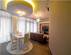Apartament 3 camere lux in vila Pipera, 154mp, piscina, semineu