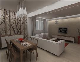 Apartament 2 camere cu gradina 70mp in Otopeni, loc de parcare inclus