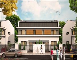 Casa de vanzare Otopeni Odai, proiect deosebit, finisaje de calitate