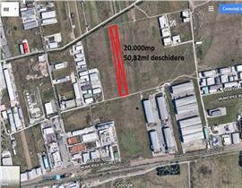 Teren industrial in Otopeni/Str Ardealului cu acces rapid din Centura