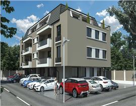 Apartament 3 camere Otopeni, 2bai, lift, tamplarie Salamander, parcare